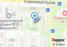 Компания «Измайлово» на карте