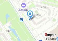 Компания «Мой учет» на карте