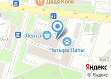 Компания «Шпиль» на карте