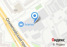 Компания «Ventair» на карте