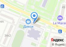 Компания «Рублёвский» на карте