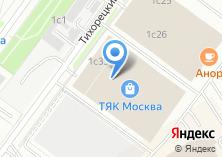 Компания «Садека» на карте