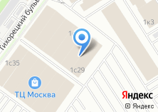 Компания «Москва» на карте