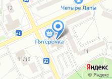Компания «Строящееся административное здание по ул. Фёдора Полетаева» на карте