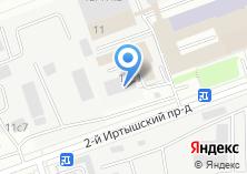 Компания «Берил» на карте
