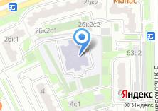 Компания «Средняя общеобразовательная школа №2033» на карте