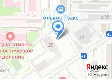Компания «Колесо972» на карте