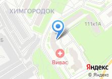 Компания «Строящийся жилой дом по ул. Ярославское шоссе (г. Мытищи)» на карте
