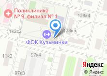 Компания «Кузьминки» на карте