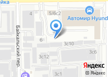 Компания «Автополюс» на карте