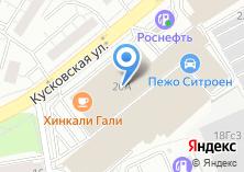Компания «АВТОКИНГ» на карте