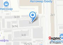 Компания «Водолей А+» на карте