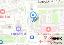 Компания «Магия суши» на карте