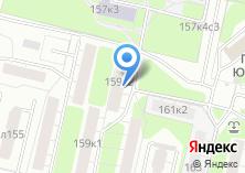 Компания «Магазин бытовой химии на Волгоградском проспекте» на карте