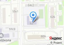Компания «Средняя общеобразовательная школа №619» на карте