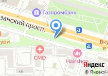 Компания «Магазин одежды и обуви на Рязанском проспекте» на карте
