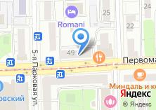 Компания «Нотариус Цветкова Л.Н» на карте