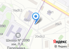 Компания «На Новокузьминской» на карте