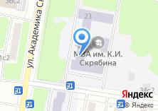 Компания «АКБ Авангард» на карте