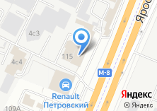 Компания «Фиеста» на карте