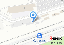 Компания «Линейный отдел полиции на железнодорожной станции Кусково» на карте