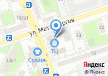 Компания «Хлебный рай» на карте