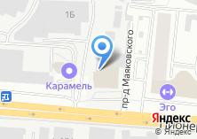 Компания «АвангардКапСтрой» на карте