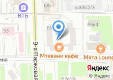 Компания «МастерХолст» на карте