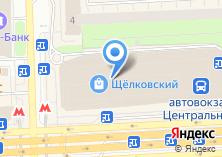 Компания «Московский междугородный автовокзал» на карте