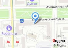 Компания «Бугатти-центр» на карте