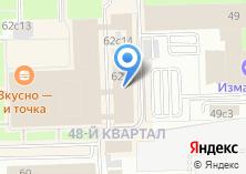 Компания «Электротехнический завод эльком» на карте