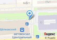 Компания «Жалюзи Щелковская» на карте