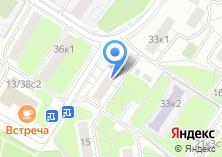 Компания «Почтовое отделение №109472» на карте