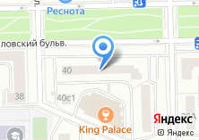 Компания «Vista» на карте