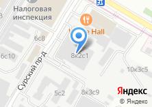 Компания «3С» на карте