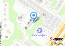 Компания «Платежный терминал,Московский банк Сбербанк России» на карте