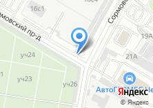 Компания «Автостоянка МООА Московская общественная организация автолюбителей район Выхино-Жулебино» на карте