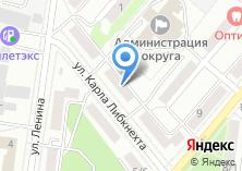 Компания «ТЕНЗОМАШ» на карте