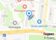Компания «Центр дезинфекции» на карте