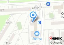 Компания «Почтовое отделение №107207» на карте