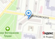 Компания «Простор Л завод холодильного и технологического оборудования» на карте