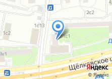 Компания «Почтовое отделение №107497» на карте