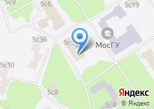 Компания «Московский гуманитарный университет» на карте