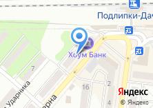 Компания «Мир шаров» на карте