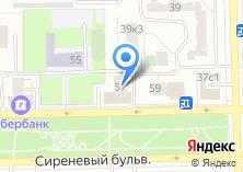 Компания «VIP Сауна на Сиреневом бульваре» на карте