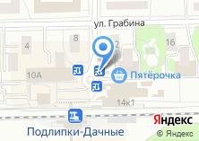 Компания «Хот-дог» на карте