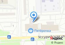 Компания «Мастерская по ремонту обуви и изготовлению ключей на Уссурийской» на карте