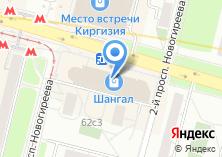 Компания «Вкусная помощь» на карте