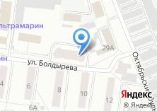 Компания «Болдырева-5» на карте