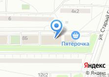 Компания «Мой Удобный Магазин» на карте